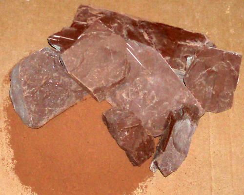 חרסית שוקולד